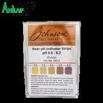 Индикаторные полоски для пива рН 4.6-6.2, Johnson