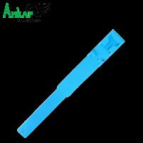 Повязка-метка на ногу,пластиковая Kerbl (голубая)