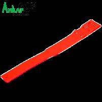 Повязка-метка на ногу,пластиковая Kerbl (красная)