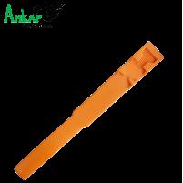 Повязка-метка на ногу,пластиковая Kerbl (оранжевая)