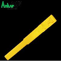 Повязка-метка на ногу,пластиковая Kerbl (жёлтая)